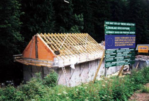 Kläranlagen - Kläranlagengebäude Hirschsprung - Kleber Heisserer