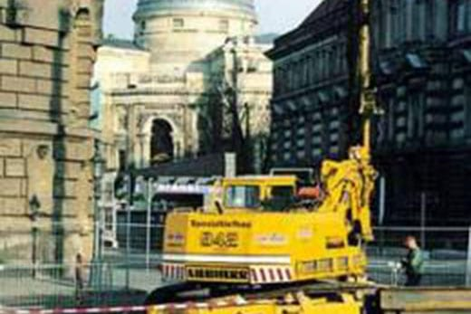 Spezialtiefbau Verbauarbeiten - Verbau in Dresden - Kleber Heisserer