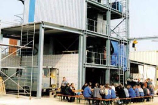 Hochbau Industriebau - Werkstattgebäude - Kleber Heisserer