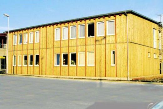 Hochbau Gewerbebau - Speditionsgebäude Zinnwald - Kleber Heisserer